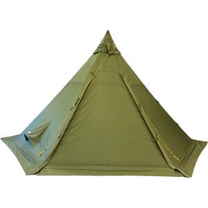 Helsport Pasvik 4-6 Tente extérieure + Pole, olive olive