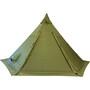 Helsport Pasvik 4-6 Tente extérieure + Pole, olive