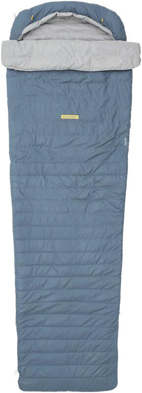 Creon MTI 3-Season Sleeping Bag 195cm dark chill left 2018 Schlafsäcke