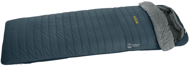 Creon MTI 3-Season Sleeping Bag 180cm dark chill right 2018 Schlafsäcke