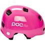 POC POCito Crane Helm Kinder fluorescent pink