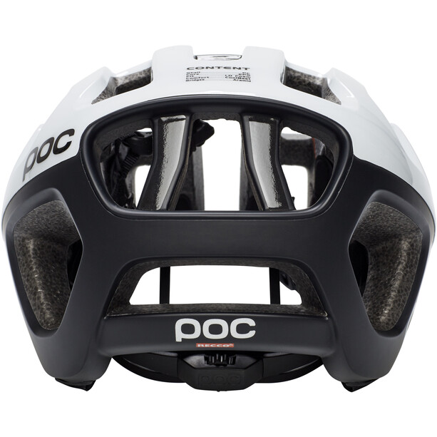 POC Octal X Helm hydrogen white