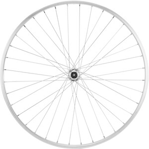 Bike-Parts Främre 26x1.9 aluminiumnav QR 36L silver silver
