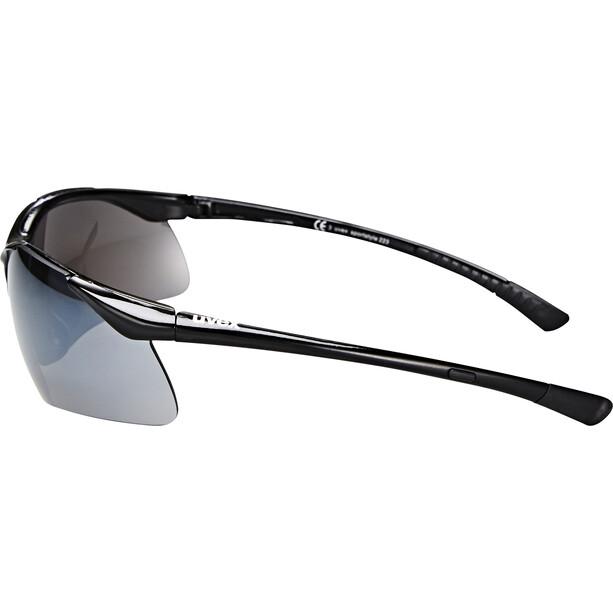 UVEX Sportstyle 223 Glasses, black/silver