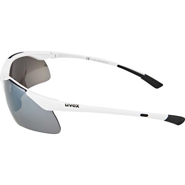 UVEX Sportstyle 223 Glasses, white/silver