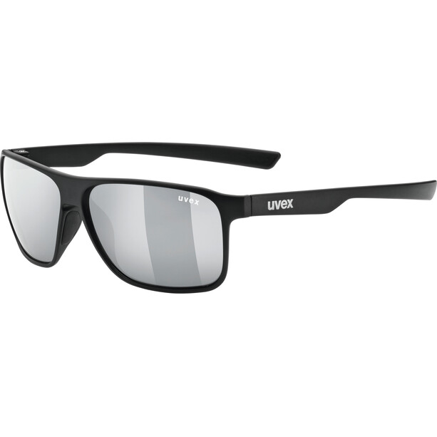 UVEX LGL 33 Pola Brille black mat/silver