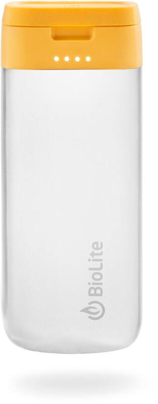 BioLite Charge 20 USB Power Pack steel  2019 Solpaneler & Batteripack