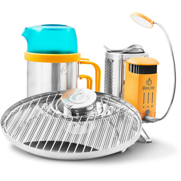 BioLite Campstove 2 Bundle orange
