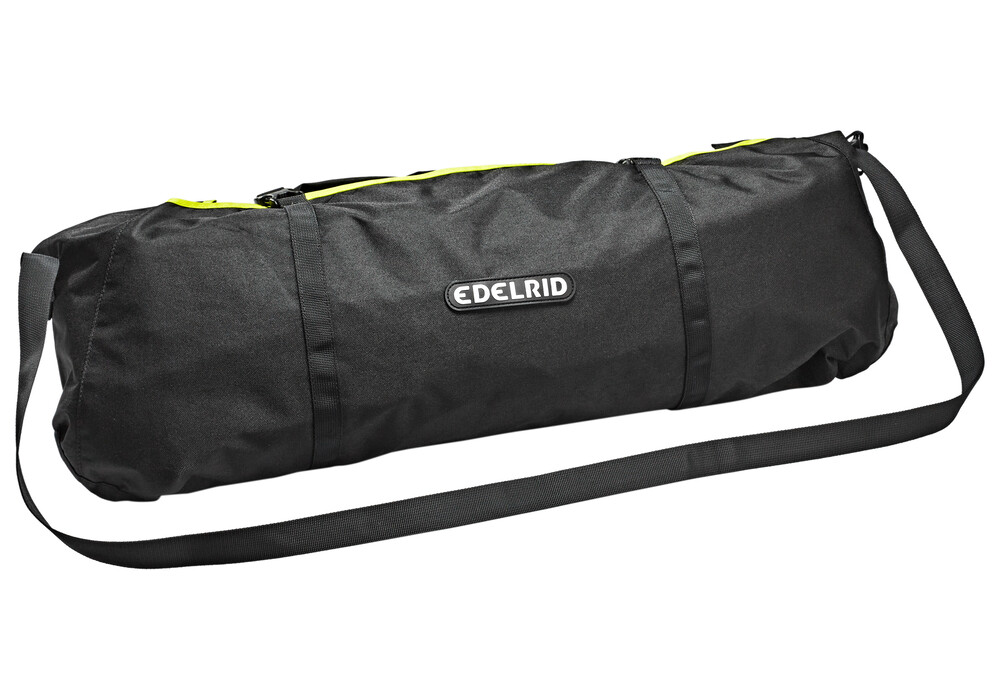 Edelrid boa klimtouw 9 8mm 50m with caddy liner geel l Liner 5 50 x 1 32