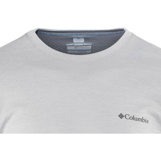 Columbia Zero Rules Langarmshirt Herren columbia grey heather