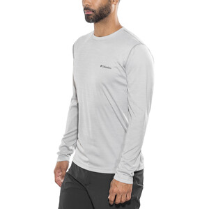 Columbia Zero Rules Langarmshirt Herren columbia grey heather columbia grey heather