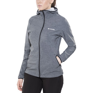 Columbia Heather Canyon Softshell-takki Naiset, black black
