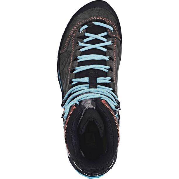 SALEWA MTN Trainer Mid GTX Schuhe Damen magnet/viridian green