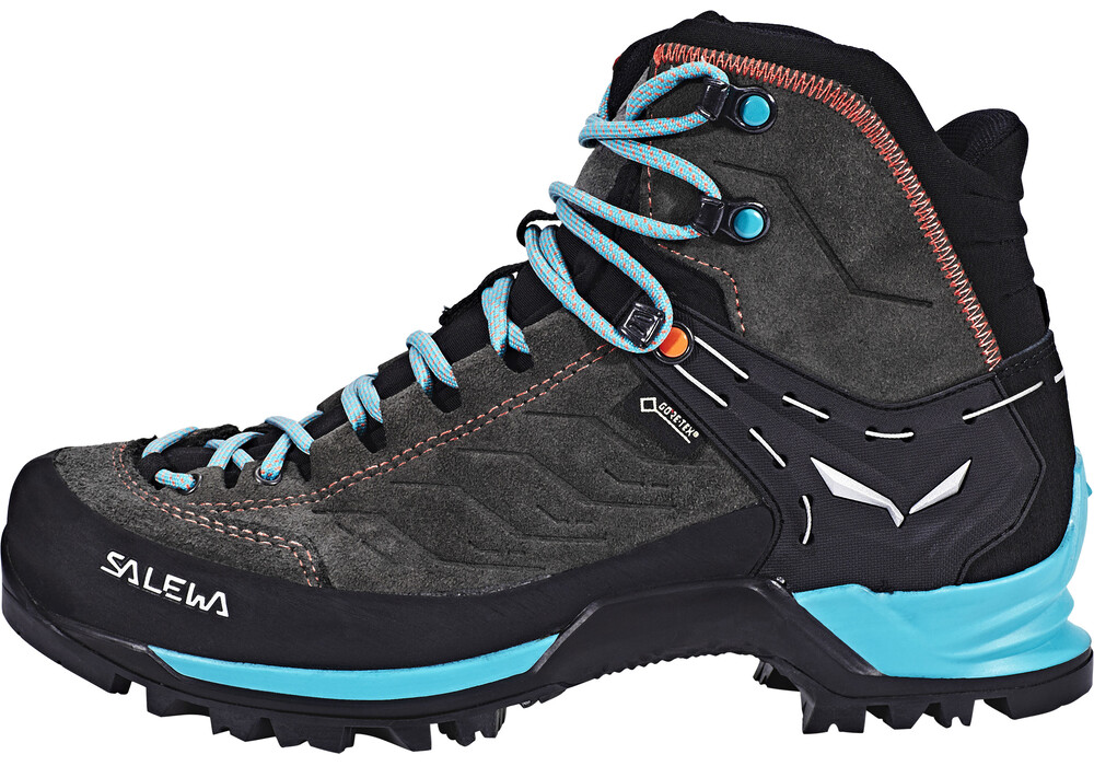 salewa mtn trainer mid gtx boots women magnet viridian. Black Bedroom Furniture Sets. Home Design Ideas