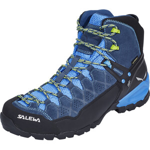 SALEWA Alp Trainer Mid GTX Schuhe Herren dark denim/cactus dark denim/cactus