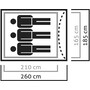 SALEWA Litetrek III Zelt grau