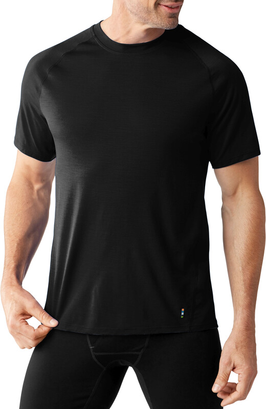 Smartwool Merino 150 Baselayer Short Sleeve Men Black L 2018 Unterhemden