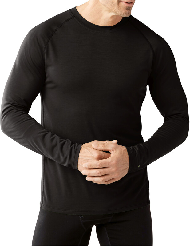 Smartwool Merino 150 Baselayer Long Sleeve Men Black S 2018 Unterhemden
