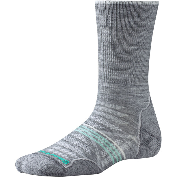 Smartwool PhD Outdoor Light Crew-Cut Socken Damen light gray