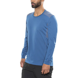 Norrøna Falketind Super Wool Shirt Herren denimite blue denimite blue