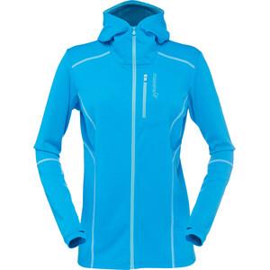Norrøna Trollveggen Warm/Wool1 Veste à capuche zippée Femme, bleu bleu