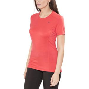 Norrøna Wool T-Shirt Damen crisp ruby crisp ruby