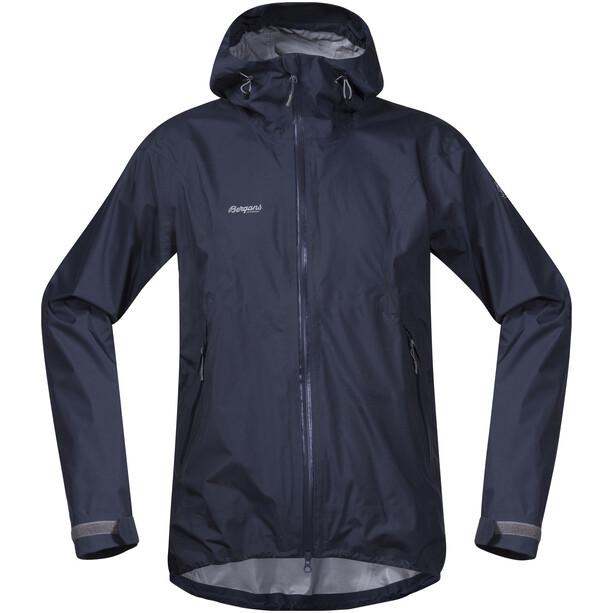 Bergans Letto Jacket Herr navy/solid grey