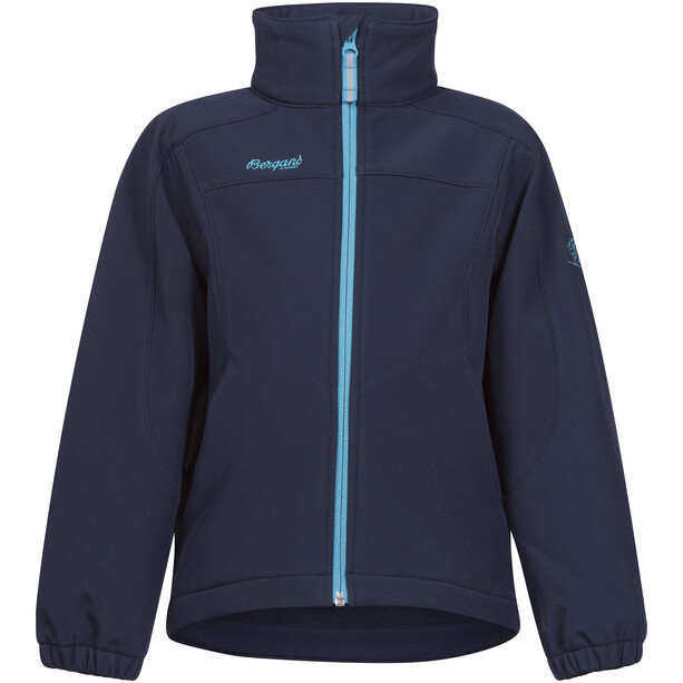 Bergans Reine Jacket Barn navy/dark turquoise