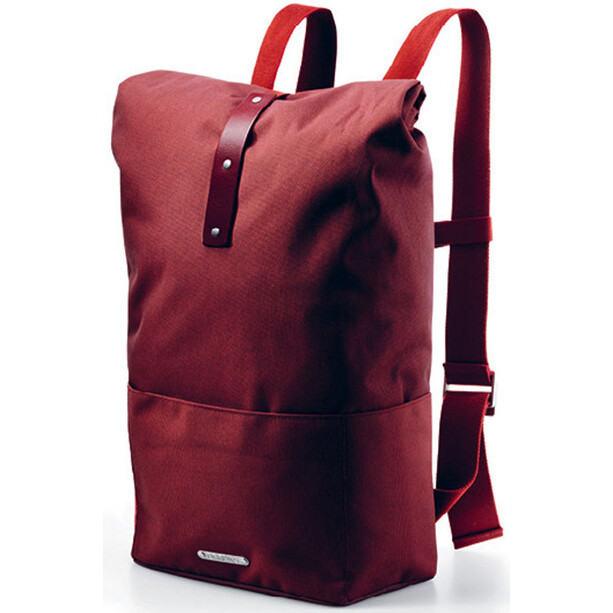 Brooks Hackney Rucksack 24-30l red fleck/maroon