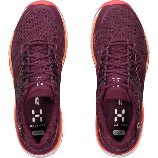 Haglöfs Observe GT Surround Shoes Dam aubergine/carnelia