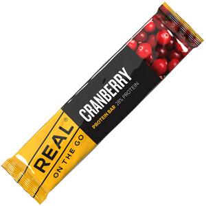 Real Turmat OTG Proteinbar 40g Cranberry