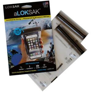 aLOKSAK Smartphone XL vattentätt fodral 2-pakke / 4x7 / 10,2x16,5cm