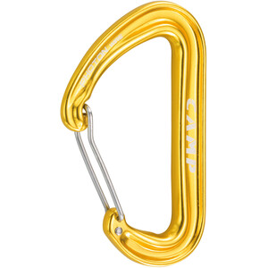 Camp Photon Wire Carabiner yellow yellow
