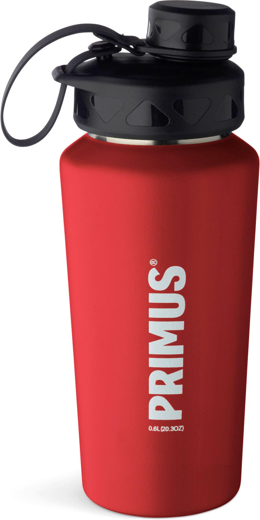 Primus TrailBottle Water Bottle Stainless Steel 600ml red