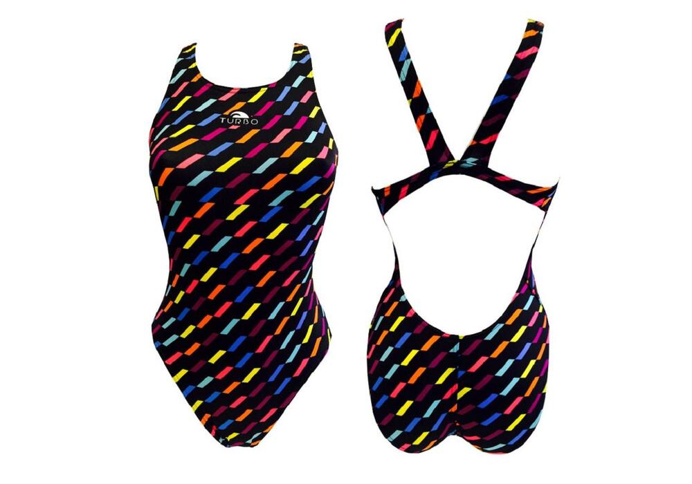 Turbo fiesta costume da bagno donne nero - Donne senza costume da bagno ...