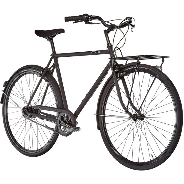Creme Caferacer Solo Homme, all black