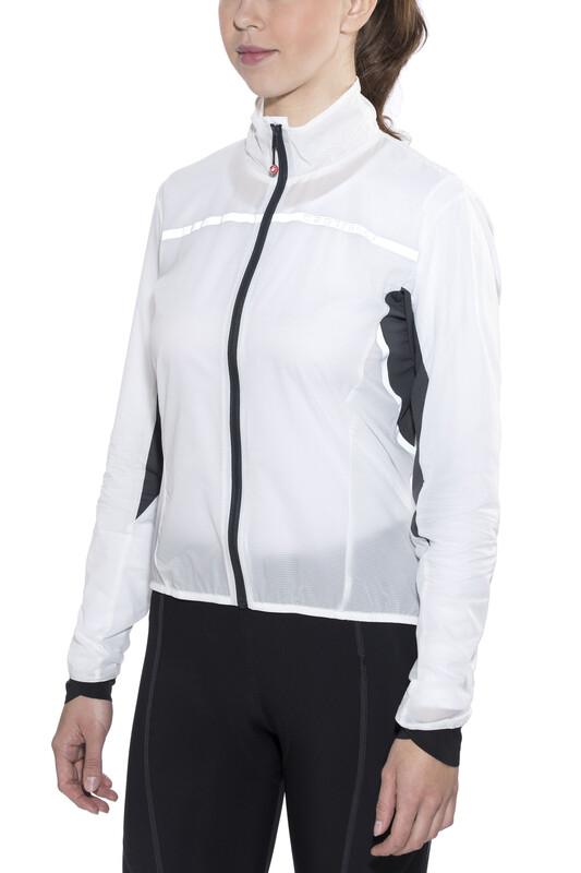 1adebec2 Castelli Superleggera Sykkeljakke Dame Hvit L 2019 Racingjakker
