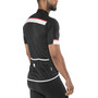 Sportful Pista Kurzarm Trikot Herren black/white-red