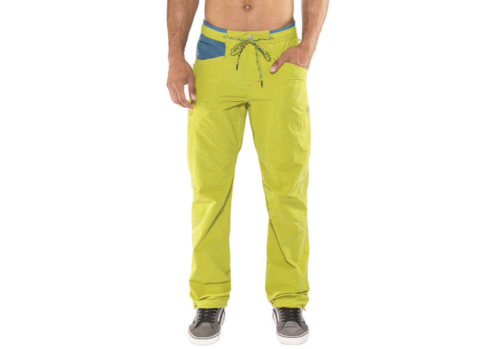 la sportiva crimper pantalon homme jaune bleu sur. Black Bedroom Furniture Sets. Home Design Ideas