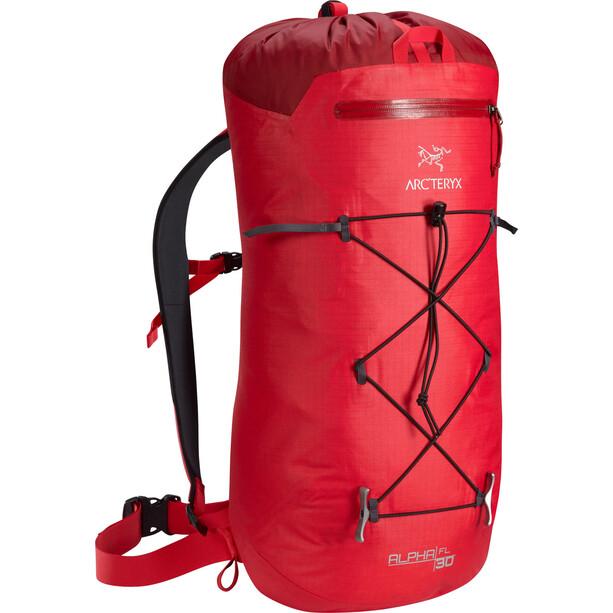 Arc'teryx Alpha FL 30 Backpack röd