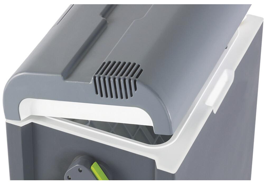 outwell ecocool glaci re lectrique 12v 24l gris vert sur. Black Bedroom Furniture Sets. Home Design Ideas