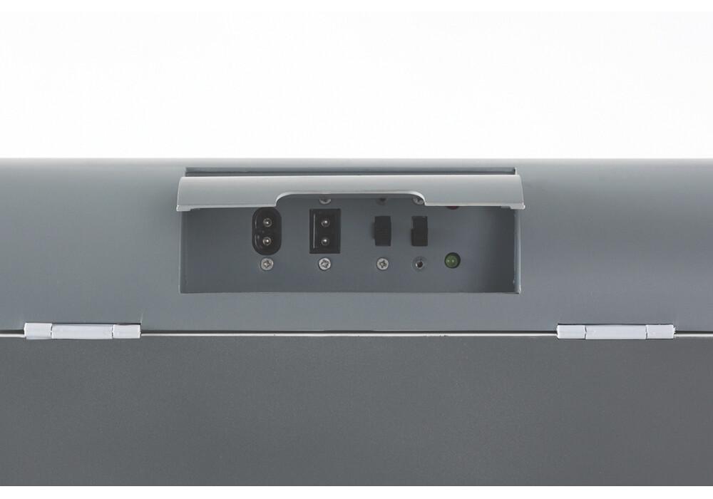 outwell ecocool glaci re lectrique 12v 24l gris. Black Bedroom Furniture Sets. Home Design Ideas