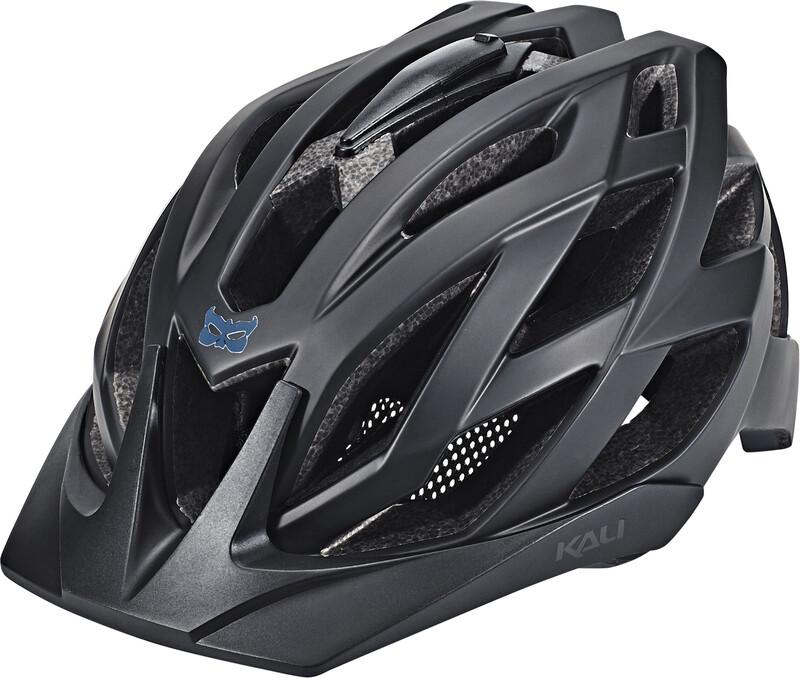 Kali Lunati Helmet black/gunmetal 54-58cm 2018 Fahrradhelme