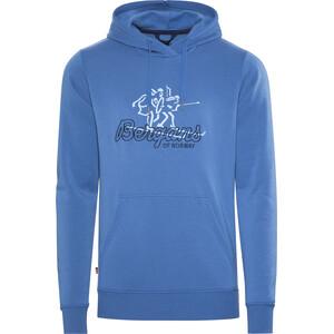 Bergans Hoodie Hombre, azul azul