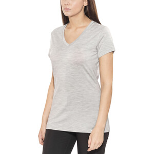 Bergans Bloom Wool Tee Women, grey melange grey melange