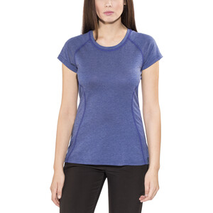 Bergans Cecilie T-Shirt Damen ink blue melange/navy ink blue melange/navy