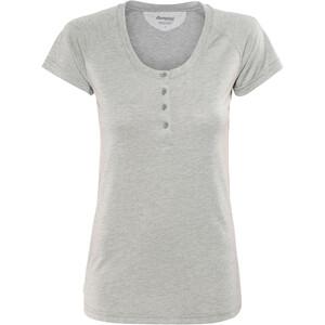 Bergans Gullholmen Camiseta Mujer, gris gris