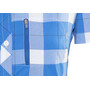 Bergans Jondal Paita Lyhythihainen Naiset, athens blue/white check
