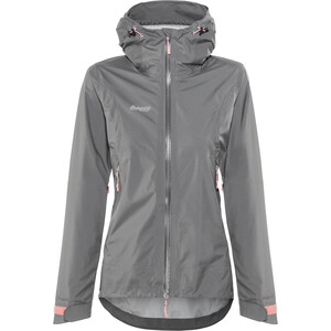 Bergans Letto Jacke Damen Graphite/Solid Grey/Pale Coral Graphite/Solid Grey/Pale Coral