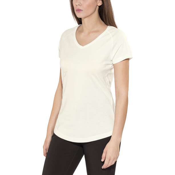 Bergans Straw T-Shirt Damen white/alu